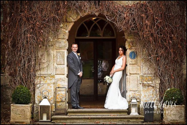 Bibury court wedding photo