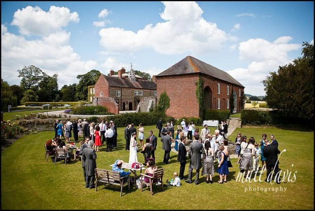Delbury Hall wedding venue photo