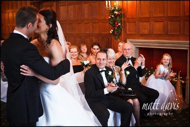 Dumbleton Hall wedding venue inside