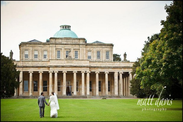 Pittville Pump Room wedding photo