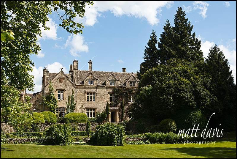 Barnsley House wedding venue