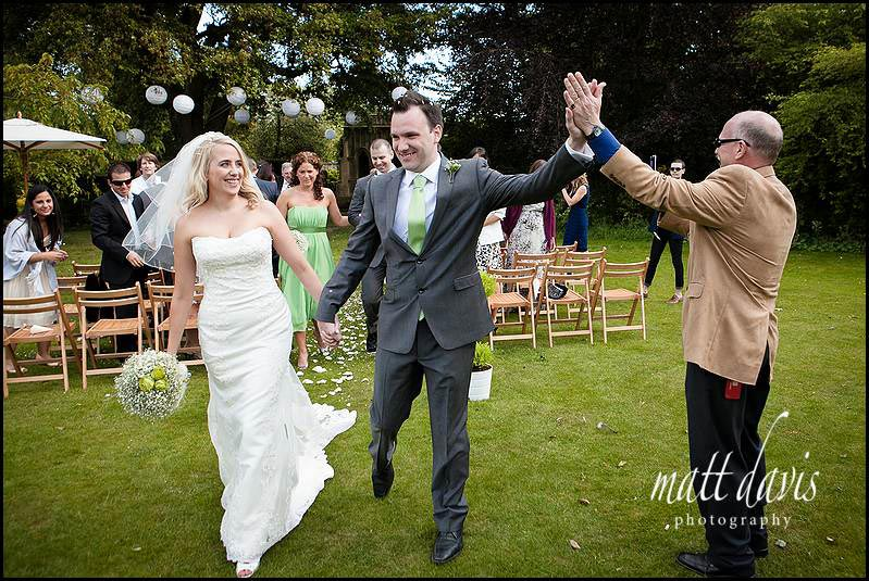 wedding photography after wedding ceremony