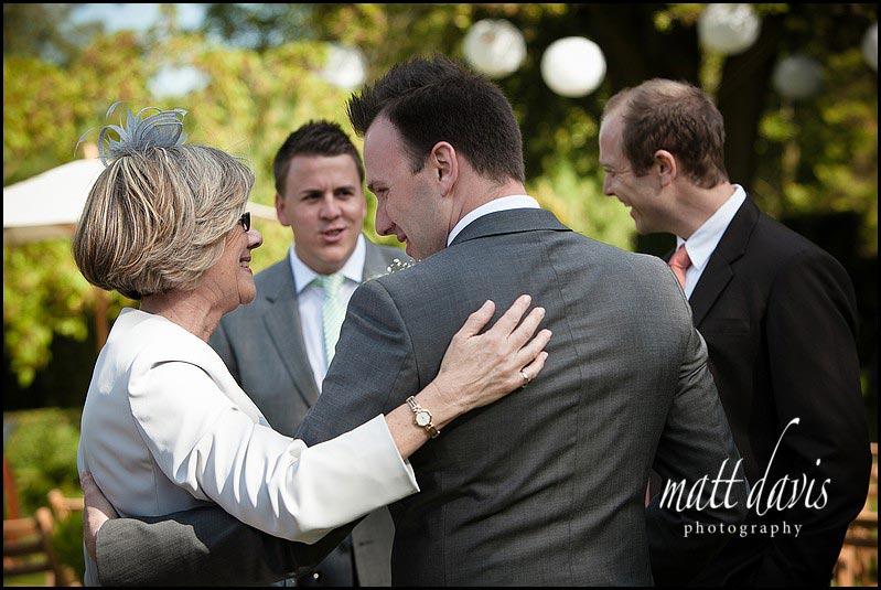 Barnsley House wedding photography of guests