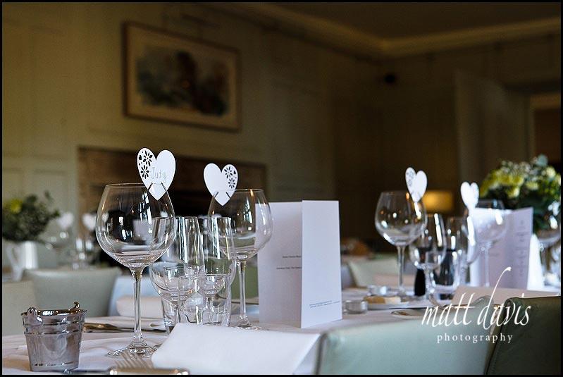 Inside Barnsley House wedding photos