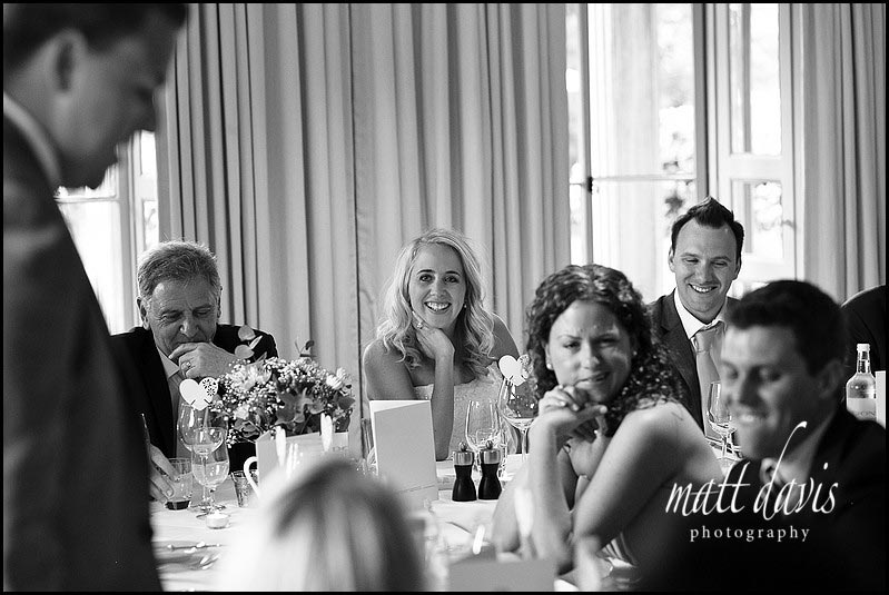 Barnsley House wedding speeches
