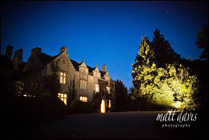 Barnsley House wedding day draws to a close
