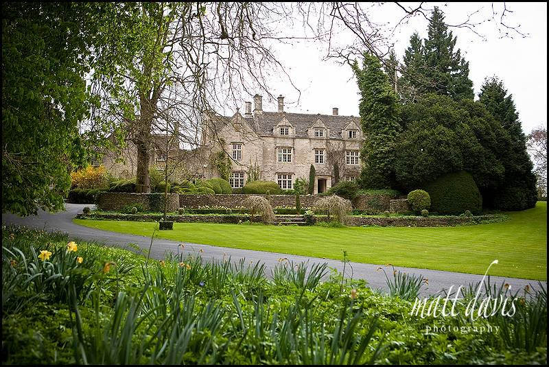 Barnsley House wedding venue photo