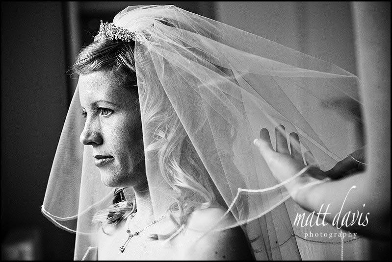 Bride at Barnsley House