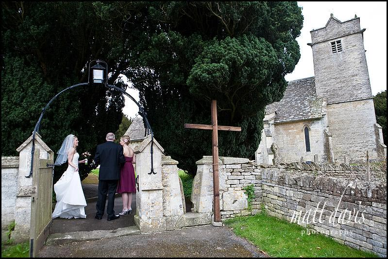 Barnsley church near Barnsley House wedding venue