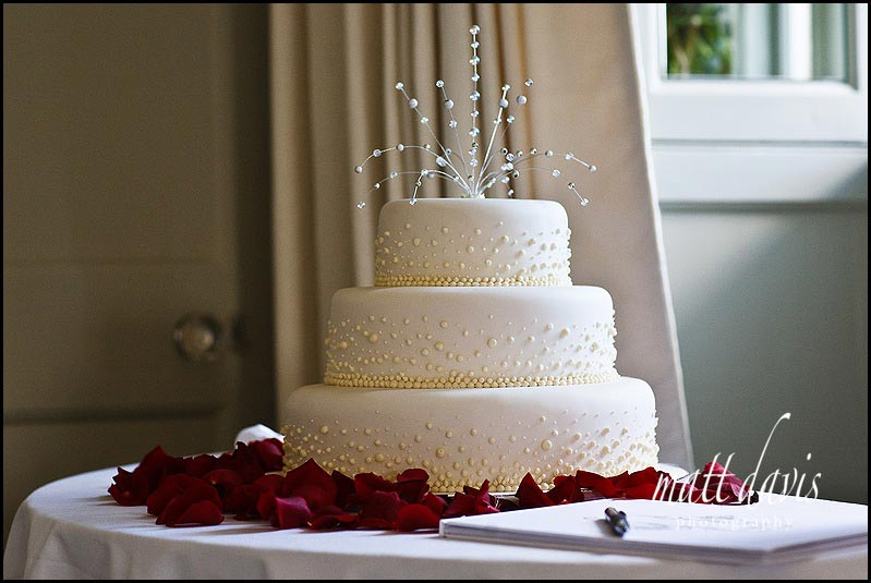 Wedding cake at Bansley House