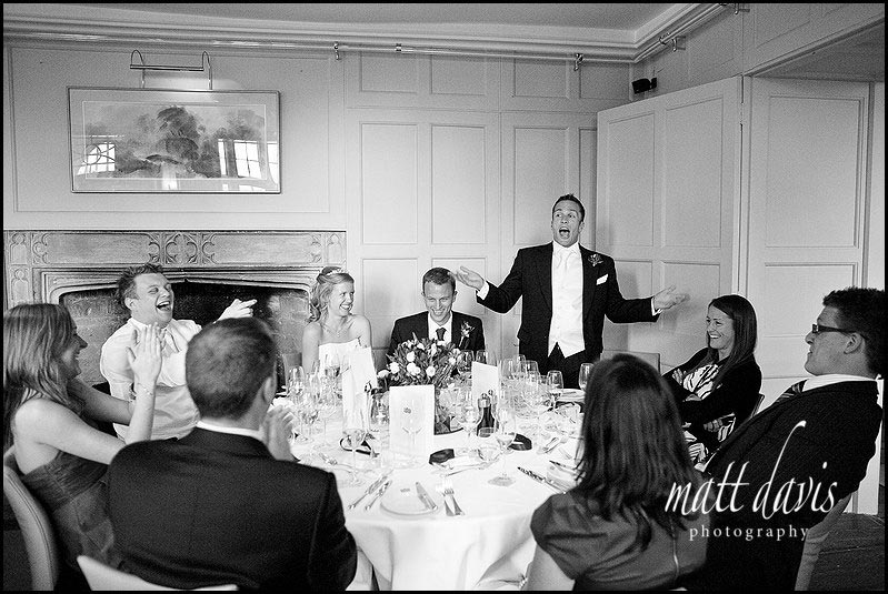 Barnsley House wedding speeches