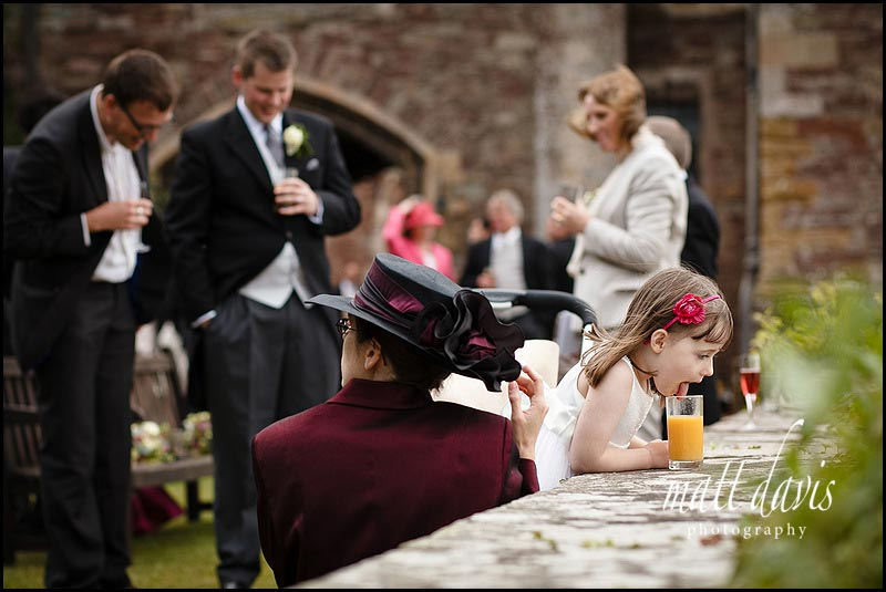 Bridesmaid at Berkeley Castle