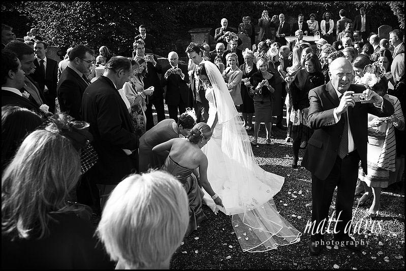 Berkeley Castle wedding photos – Graham & Dominique