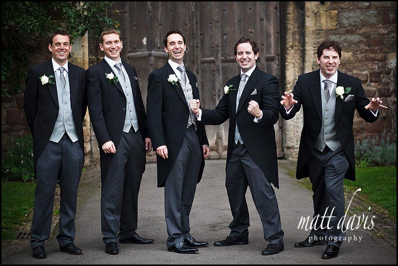 wedding photos at Berkeley Castle