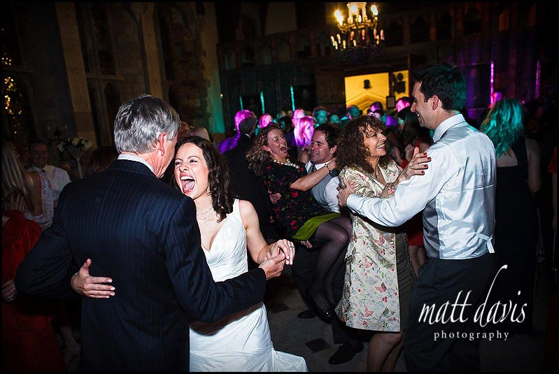 Dance floor at Berkeley Castle