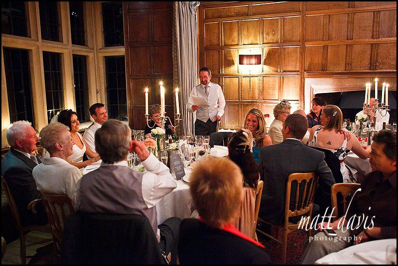 Speeches at Bibury Court