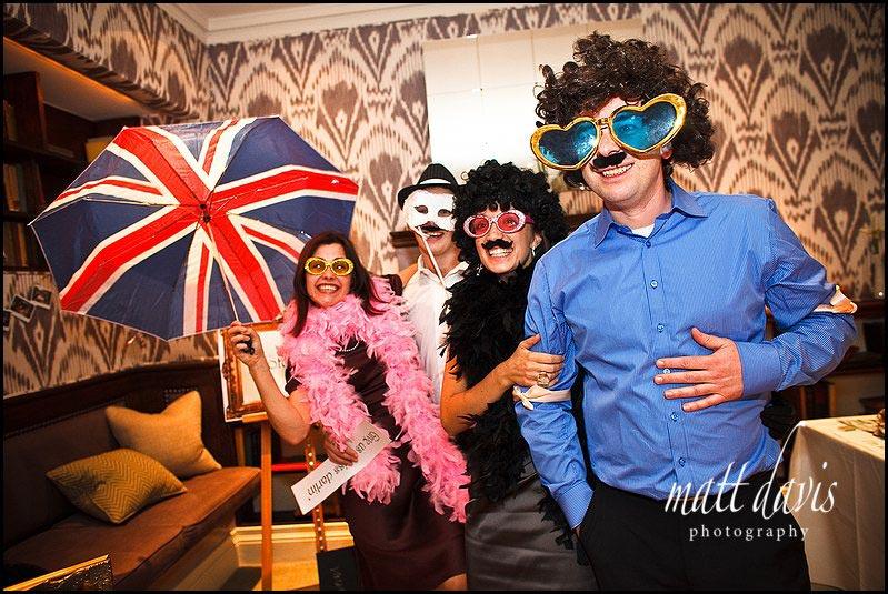 fun props for a wedding