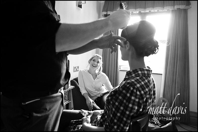 wedding hair by Chris Fordham