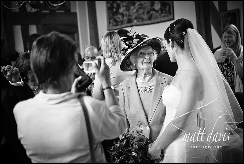 Birtsmorton Court wedding photos inside