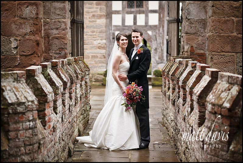 Birtsmorton Court wedding photos on wet day