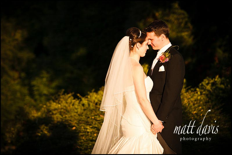 Birtsmorton Court wedding photos in beautiful light