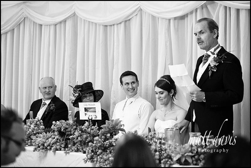 Birtsmorton Court wedding speeches