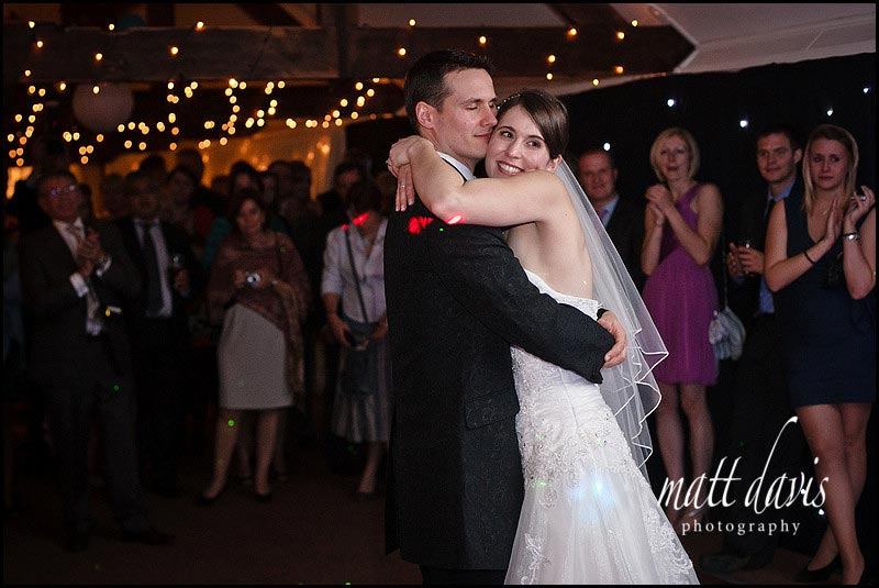 Birtsmorton Court wedding couple on dance floor