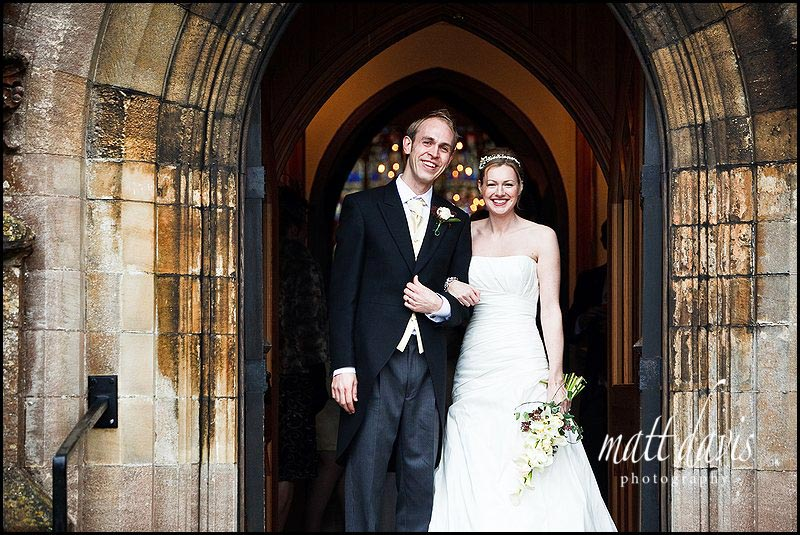 Chavenage House winter wedding photos at Tetbury Church