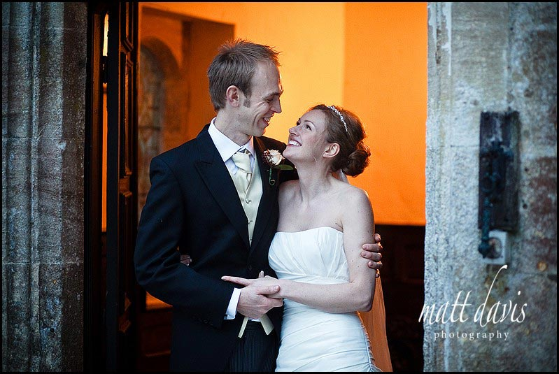 Chavenage House winter wedding photographer