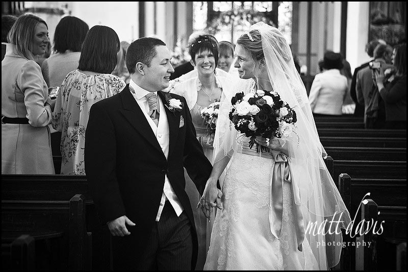 Chavenage House wedding photography at Minchinhampton Church