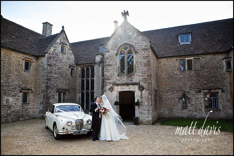 Chavenage House wedding photography of venue