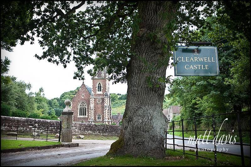 St. Peter's Church near Clearwell Castle