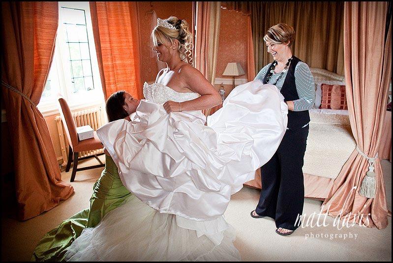 Clearwell castle documentary wedding photographer