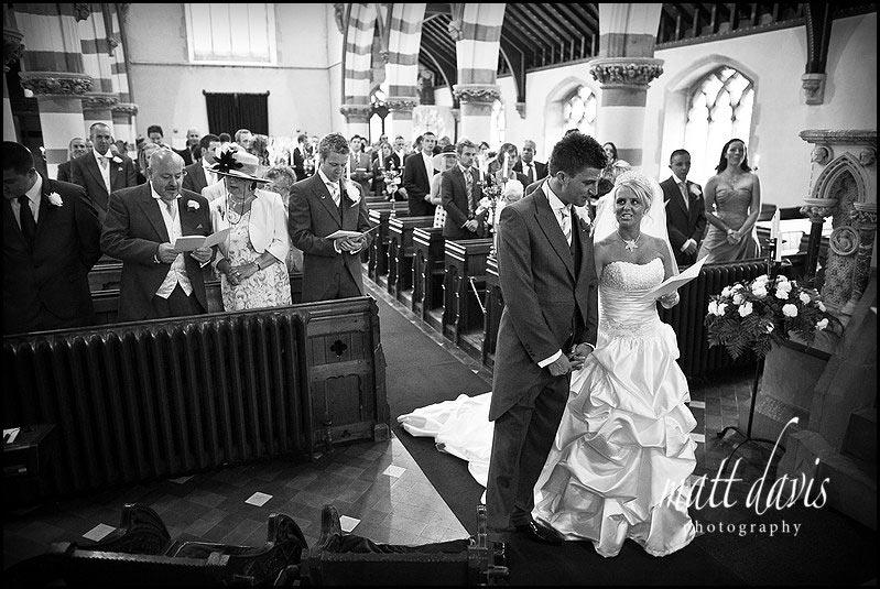 St. Peter's Church Clearwell wedding photos