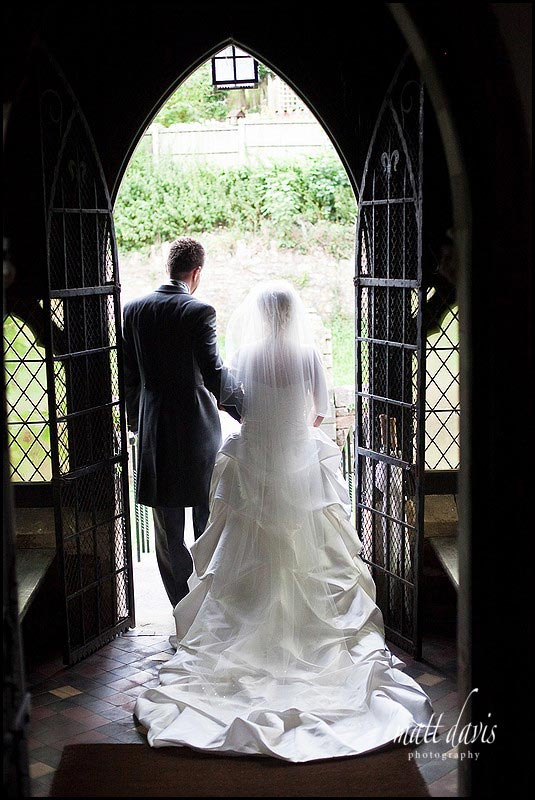 Wedding photos at St. Peter's Church Clearwell
