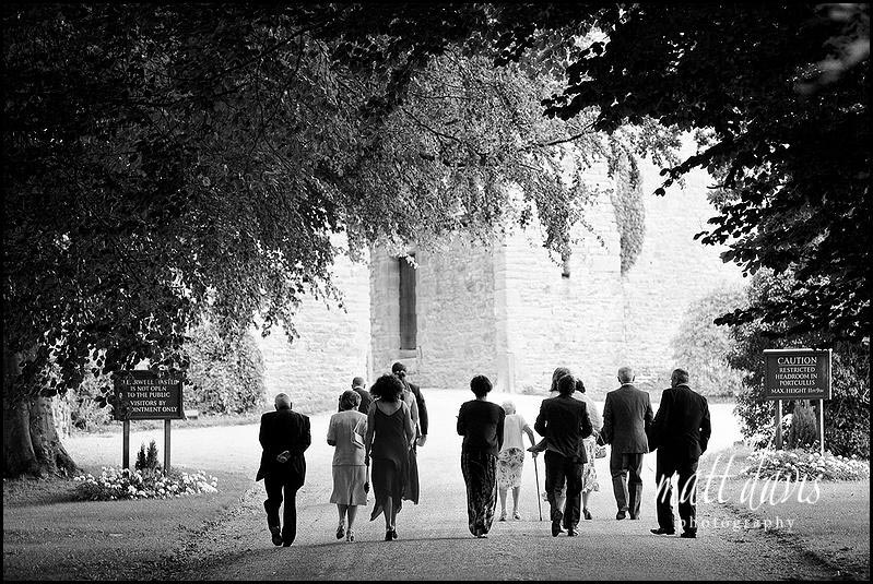 Clearwell Castle documentary wedding photography
