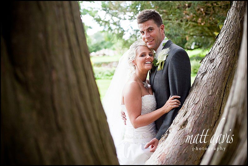 Clearwell Castle wedding photography outside