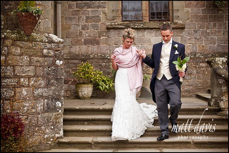 Winter wedding Clearwell Castle