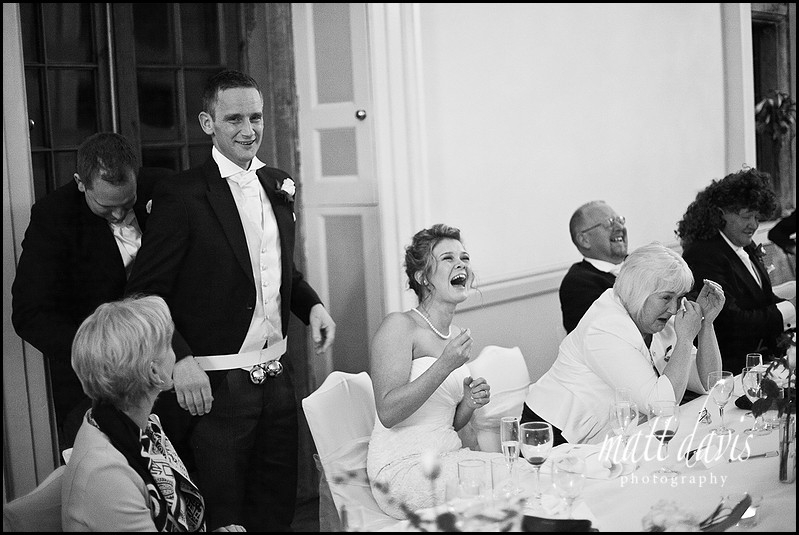 speeches at Clearwell Castle wedding