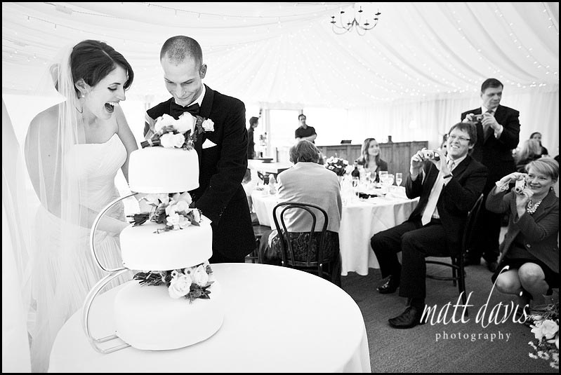 Cripps barn cake cutting photo