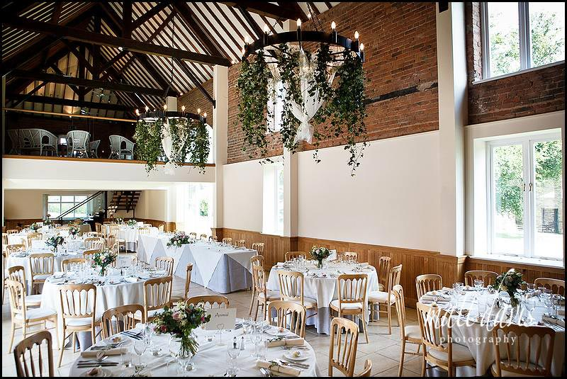 Inside Delbury hall set for wedding