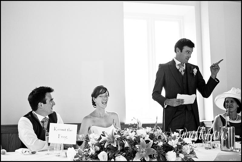 Delbury Hall wedding speeches