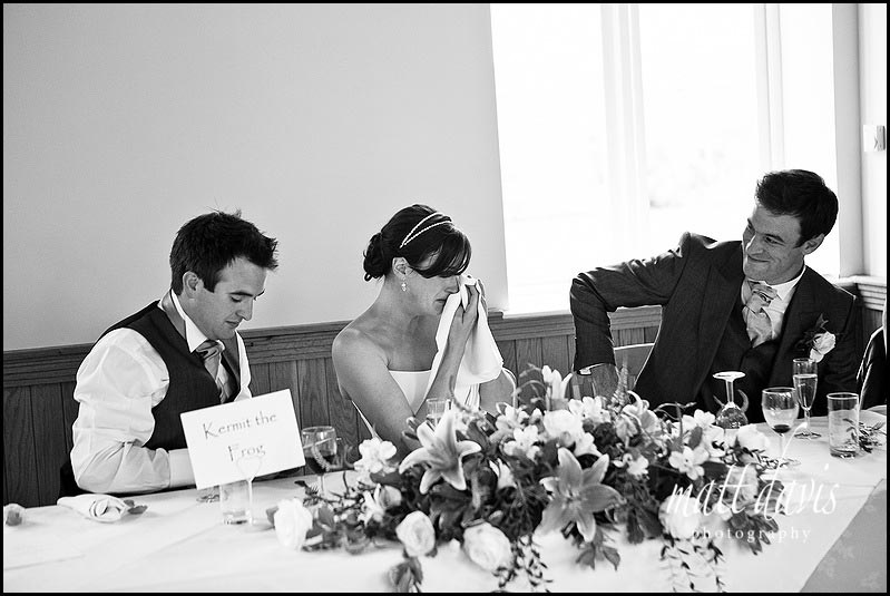 Delbury Hall wedding speech