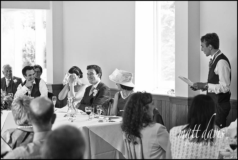 Delbury Hall wedding speech photos