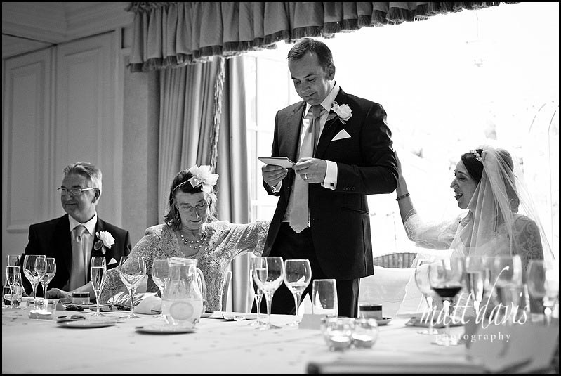 Documentary Wedding Photography of wedding speeches