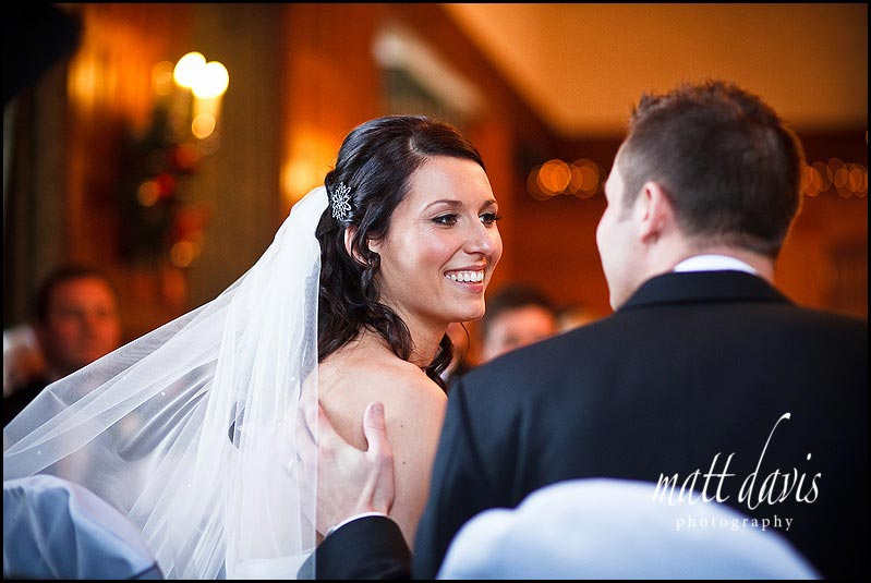 Dumbleton Hall winter wedding photos