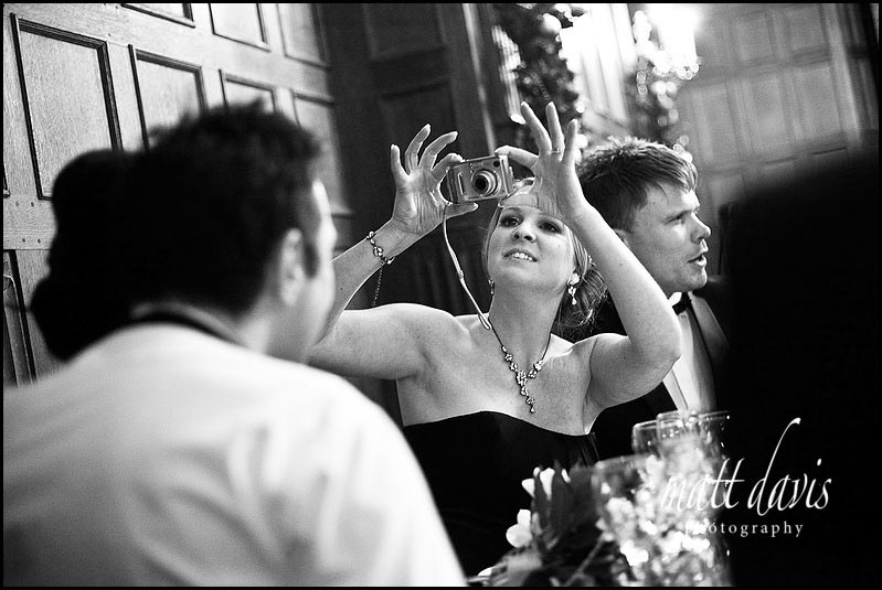 wedding photographer at Dumbleton Hall