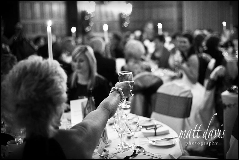 winter wedding photographer at Dumbleton Hall