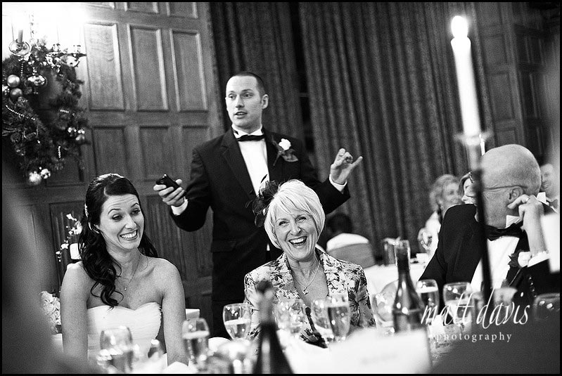 Dumbleton hall wedding speeches