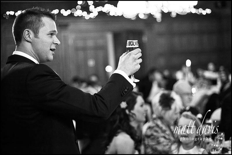 Dumbleton hall wedding speech toast